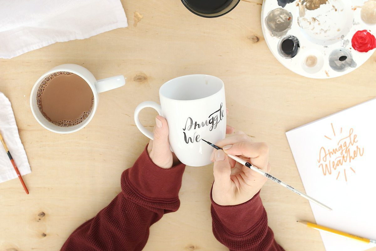 How to Paint Your Own Holiday Mug