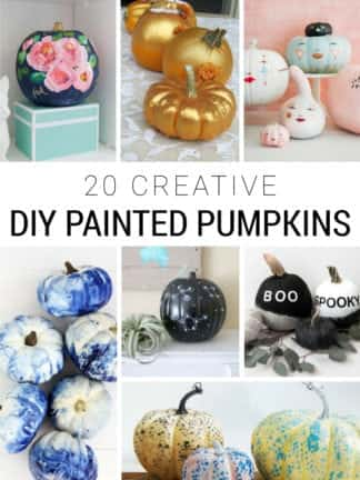 20 Creative DIY Painted Pumpkins for Fall thumbnail