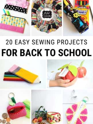 Easy Back to School Sewing Projects thumbnail