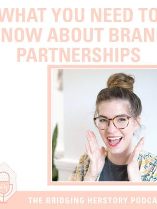 My First Podcast: What Bloggers Need to Know About Brand Partnerships thumbnail