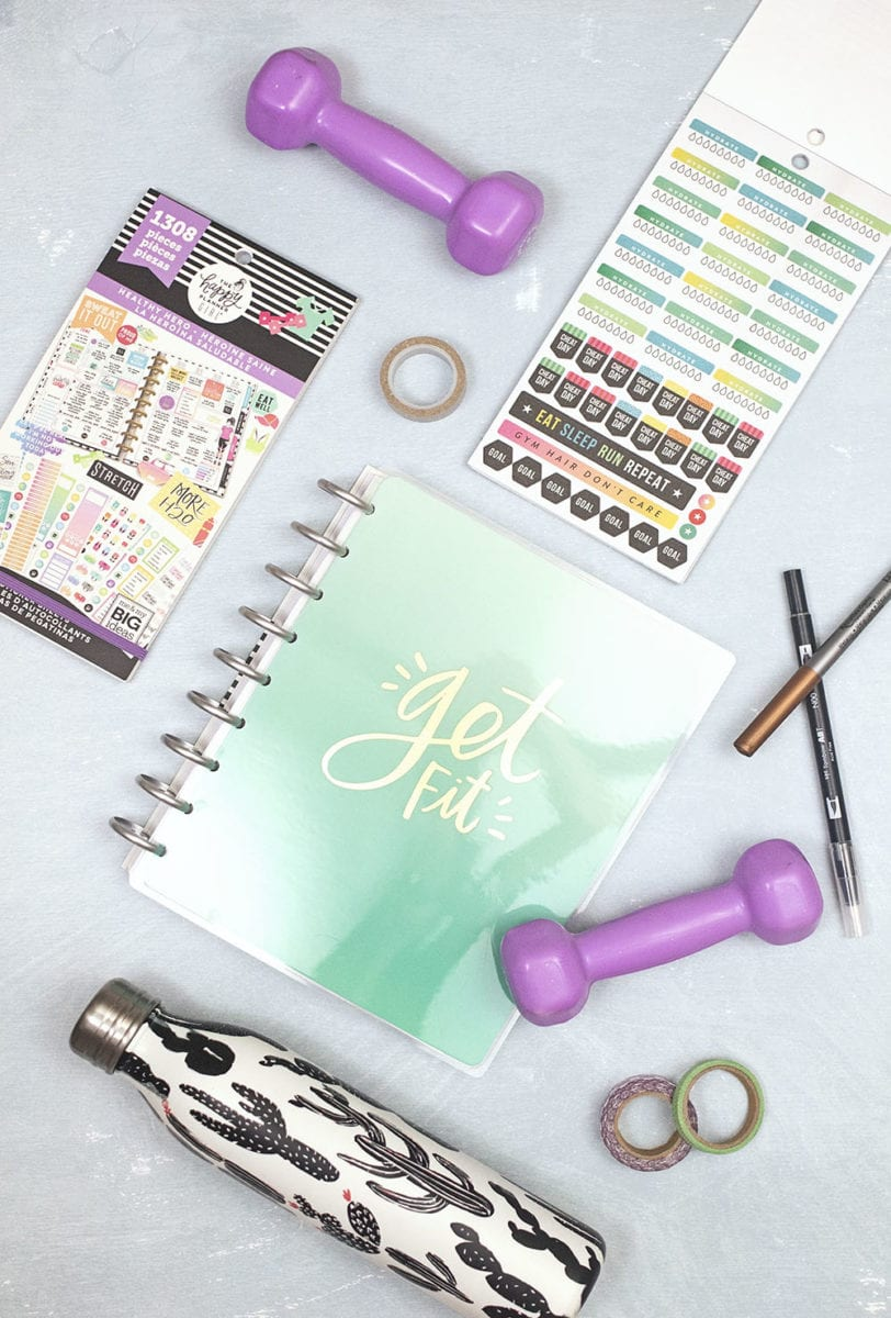 2019 Fitness Goals With The Happy Planner 2