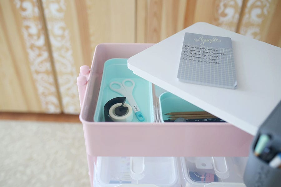 Organizing and Storing Craft Supplies
