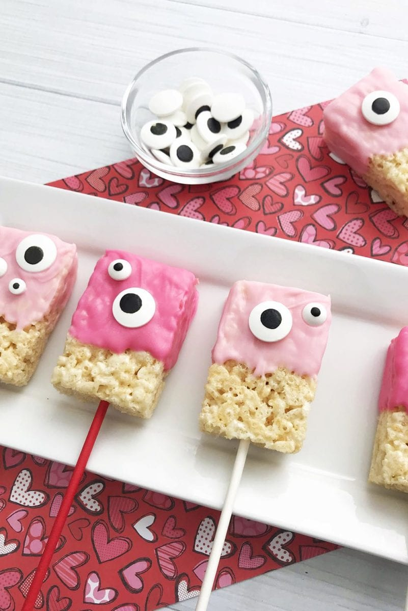 Recipe for Rice Krispies Valentines Day Treat