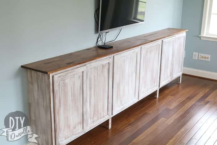 Easy Living Room Storage Cabinets