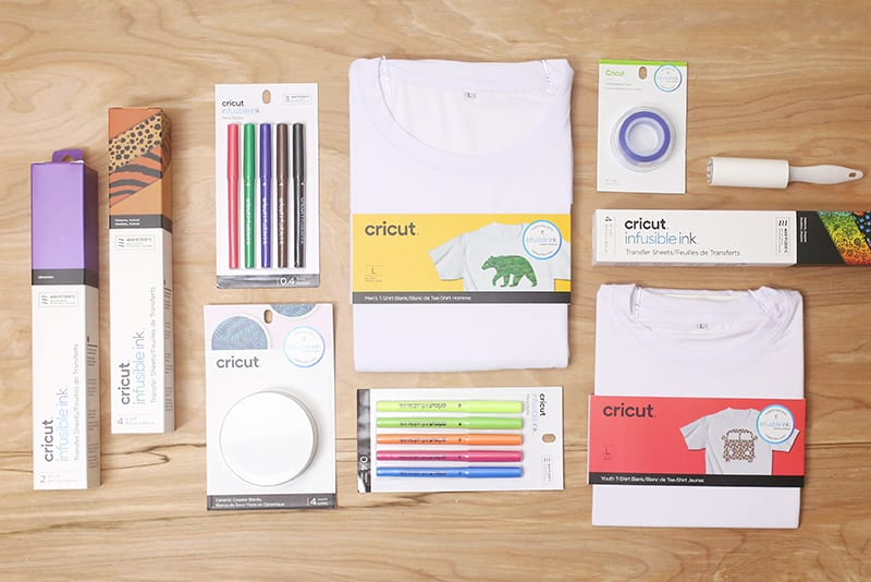 New Cricut Infusible Ink System Supplies and Accessories