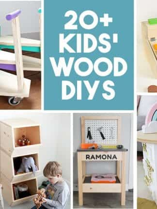 20+ DIY Wood Projects for Kids thumbnail