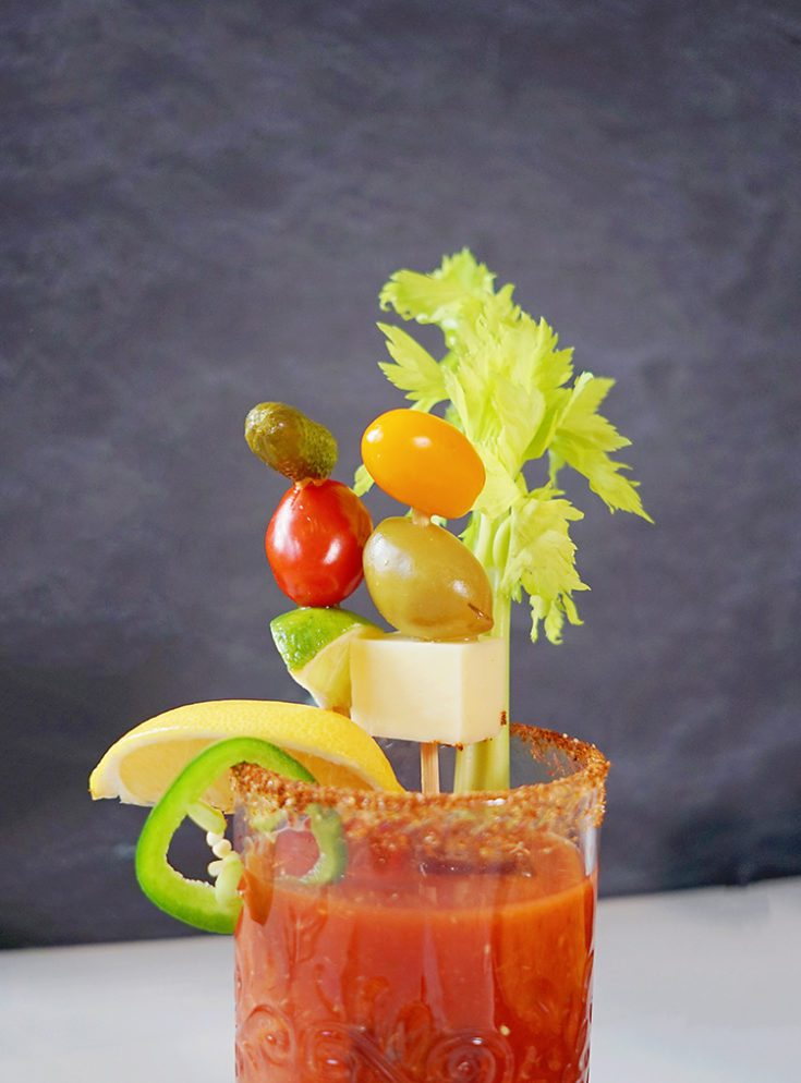 Homemade Spicy Bloody Mary Mix Recipe