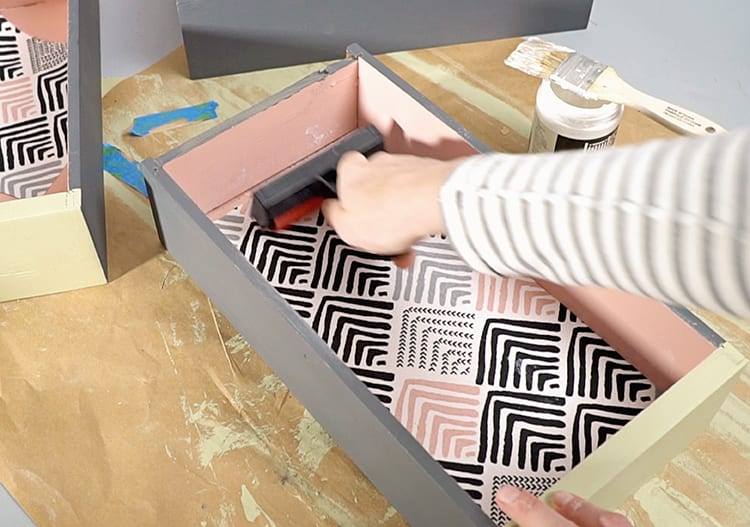 How to Fabric Lined Drawers