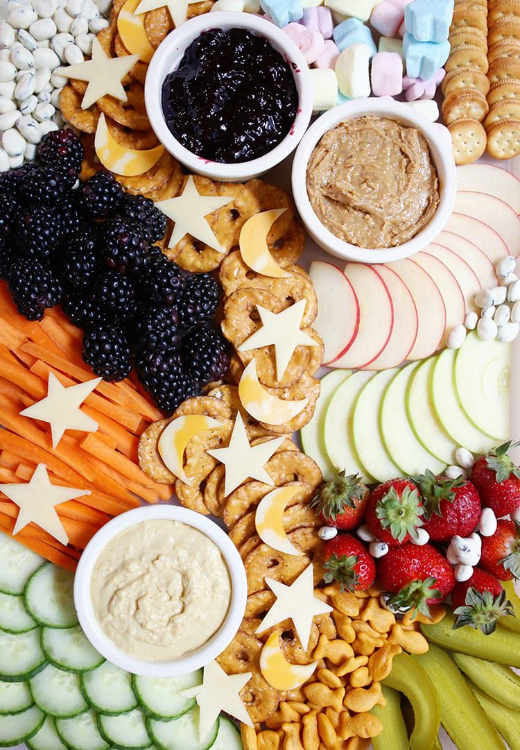 Kids Party Food Ideas - Cheese Tray